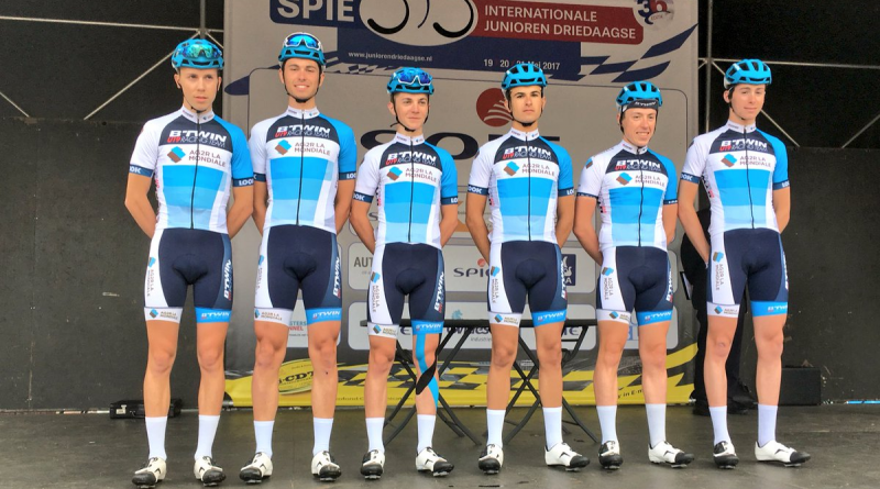 btwin u19 racing team 3 jours d'axel 2017 AG2R LA MONDIALE
